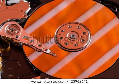 hard drive - stock photo