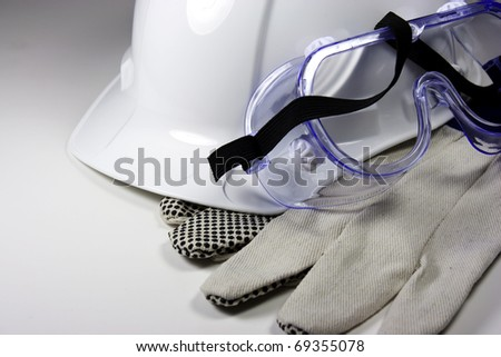 hard hat - stock photo