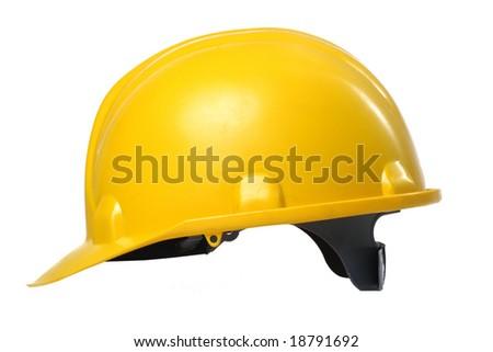 Hard hat isolated - stock photo