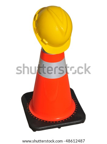 Hard Hat on Traffic Cone