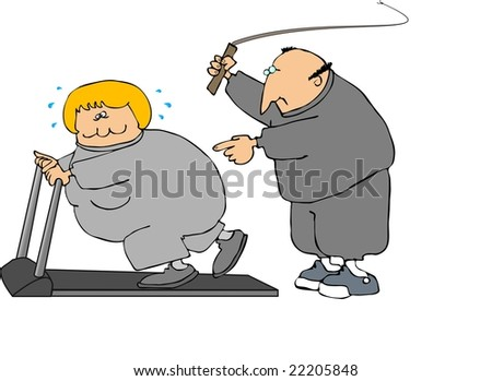 Hard Workout - stock photo