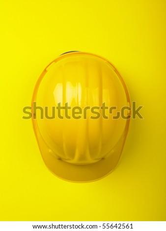 Hardhat hard hat Helmet - stock photo