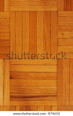 Hardwood floor texture - stock photo