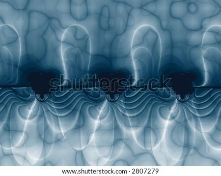 Harmonic Sequence, fractal image - stock photo