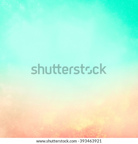 Harmonious blurred background. Idyllic summer weather. It creates a holiday mood, joy, fresh tropical breeze, the sun and heat. - stock photo