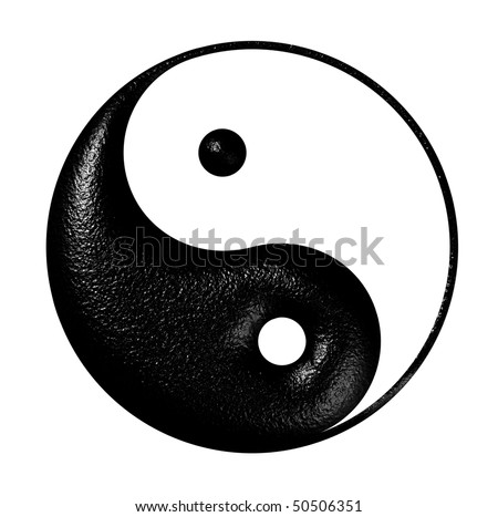 harmony and balance sign - stock photo