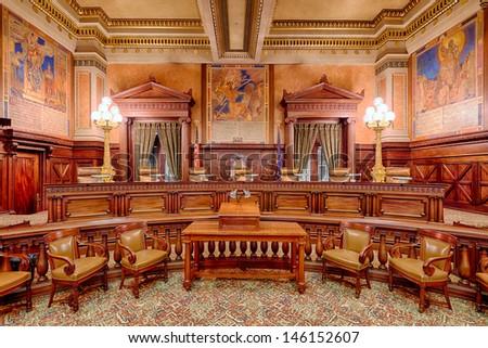 HARRISBURG PENNSYLVANIA JULY 5 Supreme Court Stock Photo ...