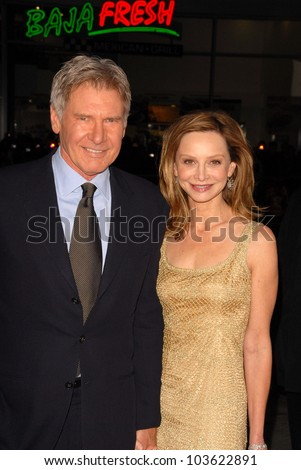 "Harrison Ford and Calista Flockhart at the ""Extraordinary Measures"" Los Angeles Premiere, Chinese Theater, Hollywood, CA. 01-19-10"