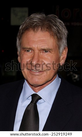 """Harrison Ford at the Los Angeles Premiere of """"Extraordinary Measures"""" held at the Grauman's Chinese Theater in Hollywood, California, United States on January 19, 2010.  - stock photo"""