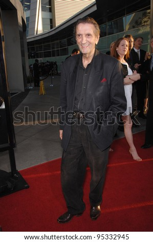 "Harry Dean Stanton at the season premiere of his HBO TV series ""Big Love"" at the Cinerama Dome, Hollywood. June 8, 2007  Los Angeles, CA Picture: Paul Smith / Featureflash"