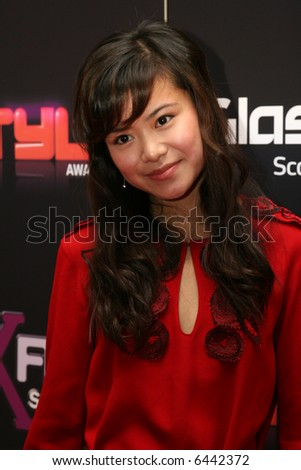 Harry Potter star, Katie Leung. At the Scottish Style Awards. - stock photo
