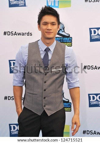 Harry Shum Jr at the 2012 Do Something Awards at Barker Hangar. Santa Monica Airport. August 19, 2012  Santa Monica, CA Picture: Paul Smith - stock photo