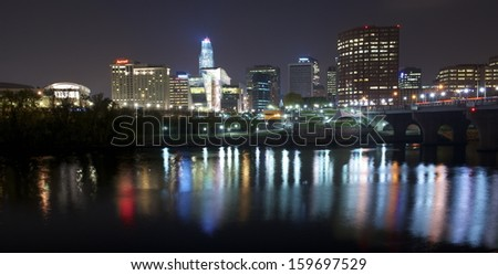 HARTFORD - OCTOBER 18 : Hartford,Ct on october 18,2013. With a population of about 124'000 it is Connecticut's fourth-largest city and its Capital.