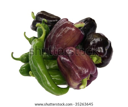Poblano Pepper Stock Photos, Images, & Pictures | Shutterstock