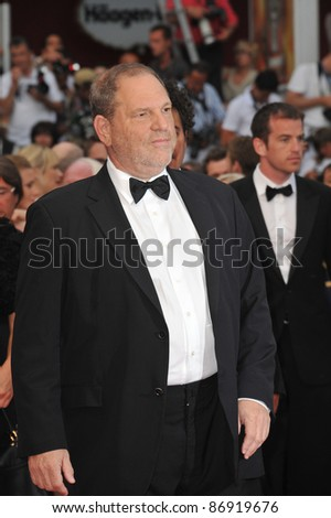 Harvey Weinstein  at the 64th Festival de Cannes awards gala. May 22, 2011  Cannes, France Picture: Paul Smith / Featureflash
