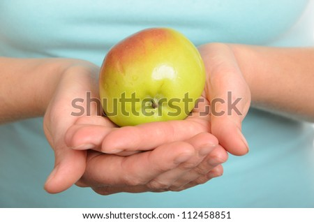 has control over apple - stock photo
