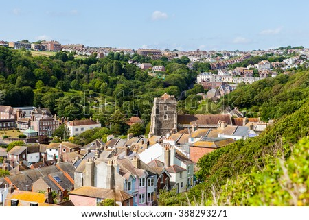 Hastings, city in England