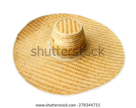 hat weave bamboo