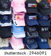 Hats for Sale at World Trade Center - stock photo