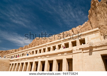 Hatshepsut - stock photo