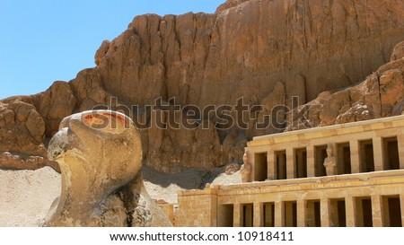 Hatshepsut temple, Luxor, Egypt - stock photo