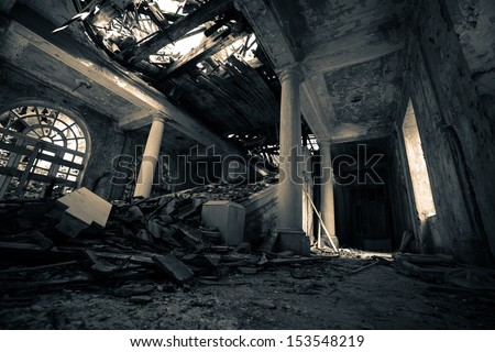 Haunted Hotel. Similar images at http://www.shutterstock.com/sets/1044707-haunted-hotel.html?rid=1728748