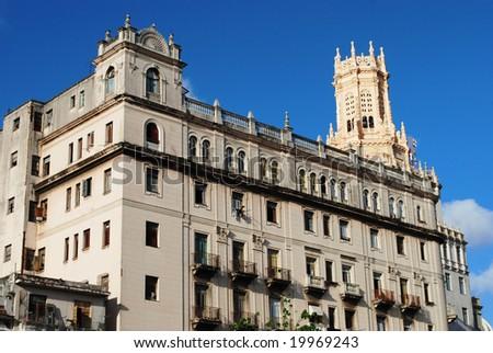 Havana modern architecture - stock photo