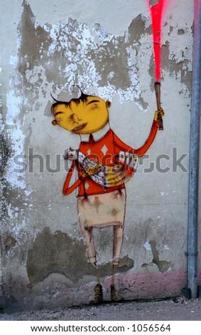 Havana Street Art - stock photo