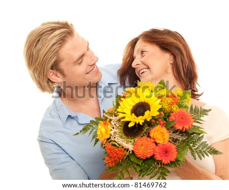 having fun - stock photo