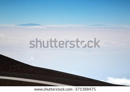 Hawaii - Maui - Haleakala - stock photo