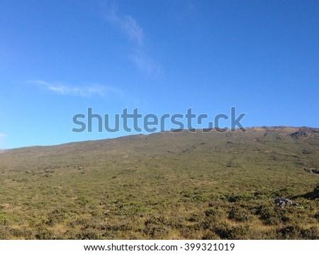 Hawaii Sky Prairie - stock photo