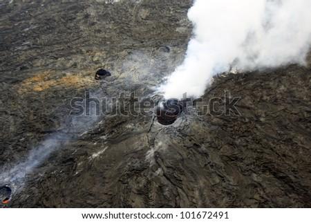 hawaii/volcano park/ - stock photo