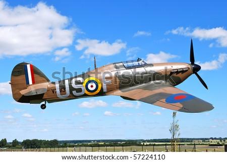 Hawker Hurricane - stock photo