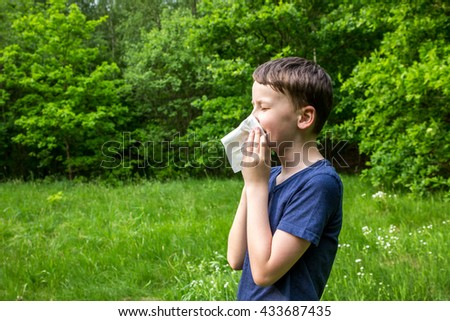 Hay fever - allergic rhinitis in children