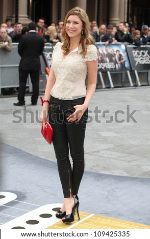 Hayley Westenra arriving for the Rock Of Ages Premiere, Odeon Leicester Square, London. 10/06/2012 Picture by: Alexandra Glen / Featureflash