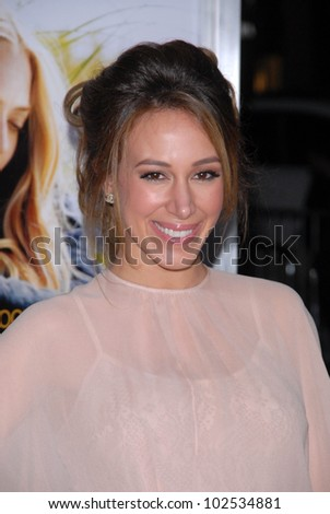 "Haylie Duff at the ""Dear John"" World Premiere, Chinese Theater, Hollywood, CA. 02-01-10"