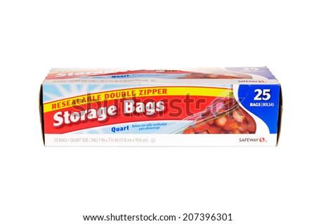 Captivating Hayward, CA   July 24, 2014: Packet Of 25 Safeway Brand, Resealable