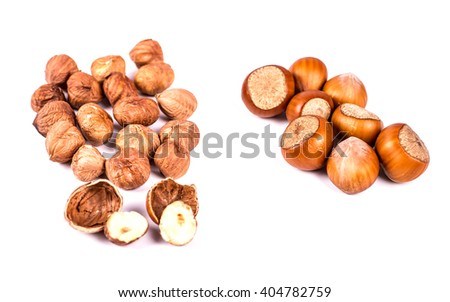 hazelnuts photo illustration