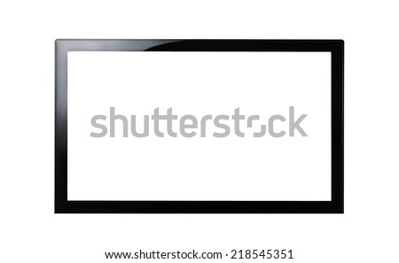 HD Television - stock photo