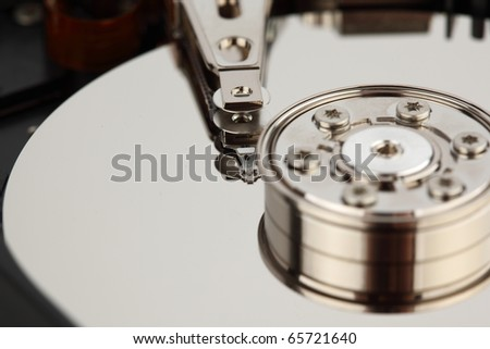 hdd background - stock photo