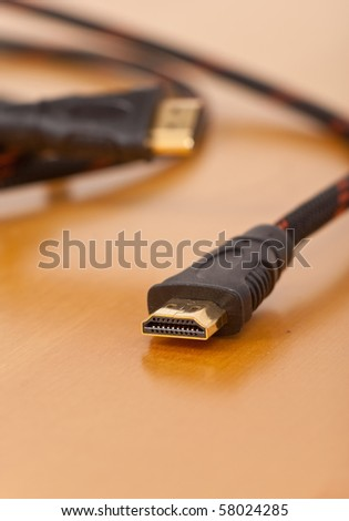 HDMI Input Cable Close Up