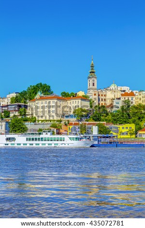HDR IMAGE view of Belgrade