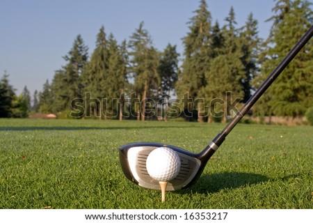 Golf Club Driver Head Head of golf club driver is