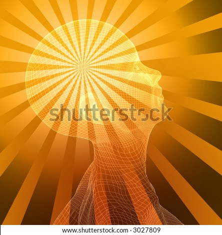 Head Vision - stock photo