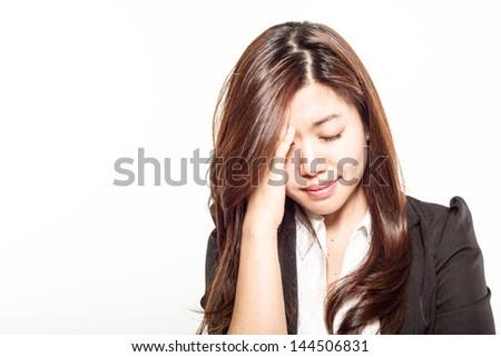 headaches - stock photo