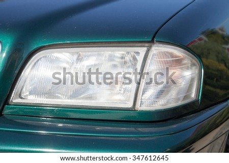 Headlamp of a car