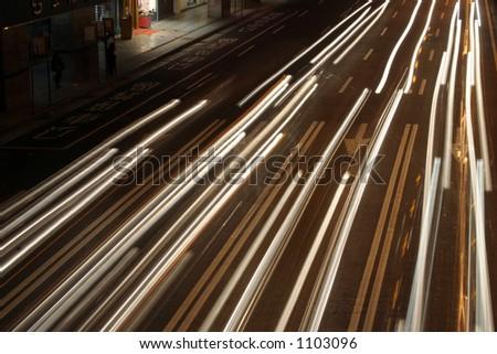 Headlights - stock photo