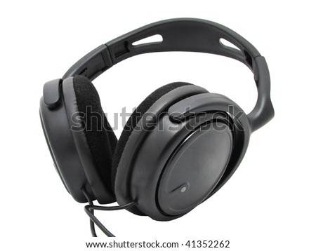 headset - stock photo