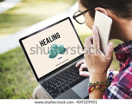 Healing Healthcare Restoration Improvement Physical Development Concept - stock photo