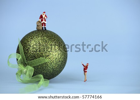 Health and Safety at Christmas - stock photo